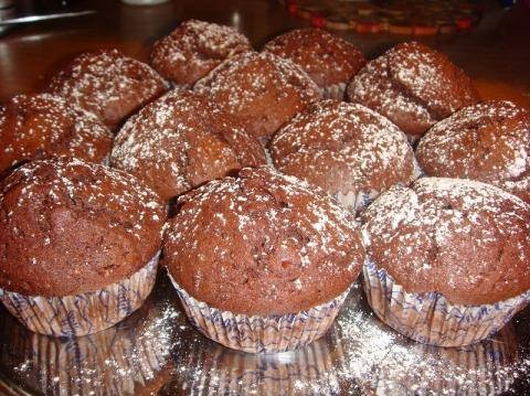 Σοκολατένια muffins  από το cookierama!!