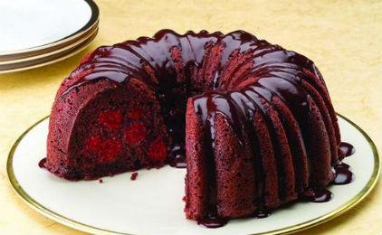 Cake σοκολάτας με κεράσια από το sidagi.gr!!