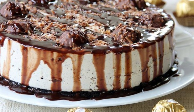 Cheesecake Ferrero Rocher   από τον Παναγιώτη Θεοδωρίτση και τις «Συνταγές Πάνος» !