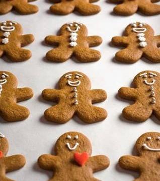 Χριστουγεννιάτικα Gingerbread Men Cookies από τον chef Ζαφείρη Κλωνάρη και το «Zucker my art» !