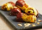 Πουράκια με φύλλο σφολιάτας, πραλίνα, μήλο & αμύγδαλα από τις «Γλυκιές Συνταγές» και την Nestle!!