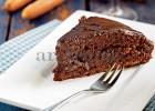 Kέικ κακάο με καρότο και κρέμα σοκολάτας από την Αργυρώ!