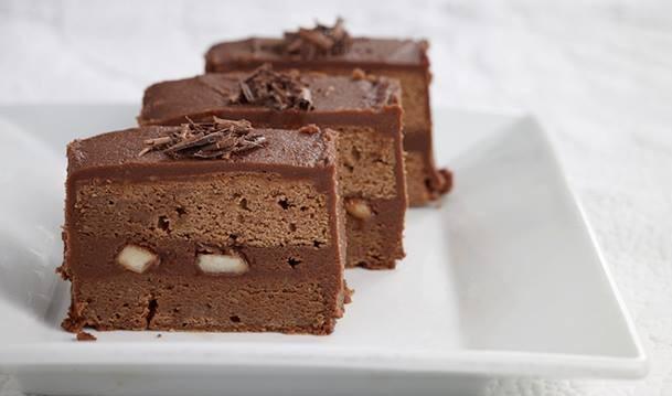 Σοκολατίνες με αχλάδι από το Cookoo.gr!