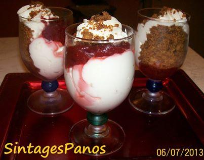 Cheesecake με κράμπλ σε ποτήρι, από τον Παναγιώτη Θεοδωρίτση και τις «Συνταγές Πάνος»!
