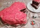 va»L»entine cake «L»   από την Ελευθερία Μπουτζα και το Μαγειρευοντας με την «L» !