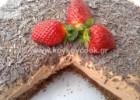 Cheesecake με σοκολάτα, μασκαρπόνε και φράουλες  από την υπέροχη Ρένα Κώστογλου και το koykoycook !