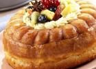Μεθυσμένη τούρτα μπαμπά με φρούτα εποχής από τον  Giorgio Spanakis και το i-food !