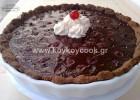 Τάρτα πραλίνα σοκολάτα με βύσσινα από την  αγαπημένη μας Ρένα Κώστογλου και το Koykoycook !
