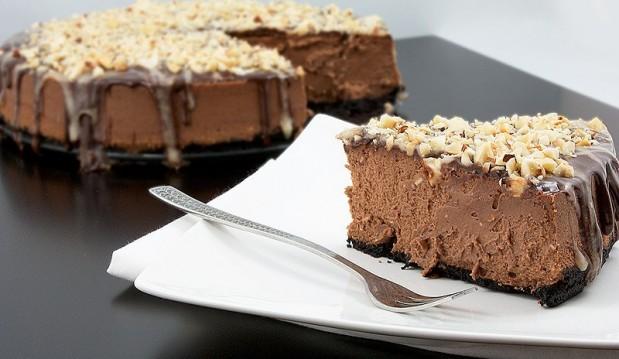 Cheesecake σοκολάτας από την Μαριλού Μαντά και το Thinkdrops!