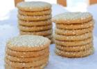 Νηστίσιμα Μπισκότα με σουσάμι και ταχίνι από το Sidagi.gr !