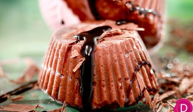 Χαλβάς σοκολατένιος, σεμιφρέντο από την Ντίνα   Νικολάου !