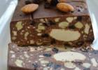 Νηστίσιμος Κορμός Σοκολάτας Mε χαλβά, Aμύγδαλα Και Σταφίδες από την Ιωάννα Σταμούλου και το Sweetly !
