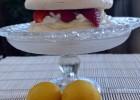 Πάβλοβα λεμονιού με φράουλες και κρέμα λευκής σοκολάτας από την Ιωάννα Σταμούλου  και το «Sweetly »  !