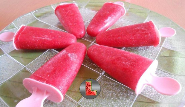 Γρανίτα φράουλα με στέβια από την Ελευθερία Μπουτζα και το «Μαγειρεύοντας με την L» !