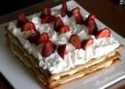 Μιλφέιγ με φράουλες από την Ηλιάννα και τις «Μαγειρικές Διαδρομές» !