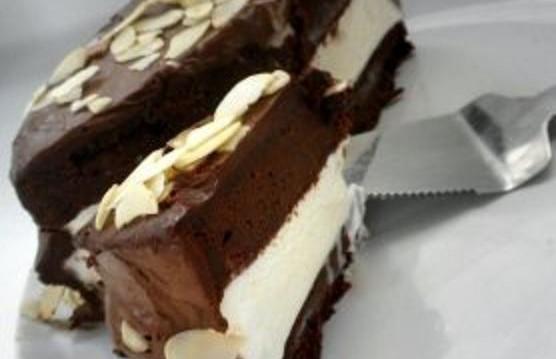 Σοκολατένιο κέικ παγωτού από το «Green mixer»  !