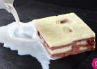 Γλυκό  ψυγείου  με κρέμα και μπισκότα από   την Ντίνα Νικολάου!