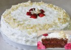 Τούρτα σοκολάτα φράουλα από το Chefoulis.gr !