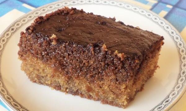 Σοκολατόπιτα με σιμιγδάλι και γιαούρτι από την Αρτεμησία και το Chefoulis.gr!