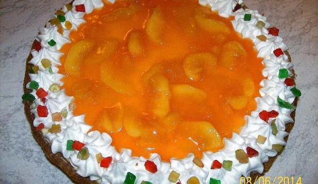 Τάρτα orange peach από τον Παναγιώτη Θεοδωρίτση και τις «Συνταγές Πάνος» !