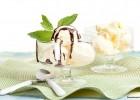 Παγωτό βανίλια με σιρόπι σοκολάτας με στέβια και  θερμιδική ανάλυση και σχόλια από την «Nutrimed» !.