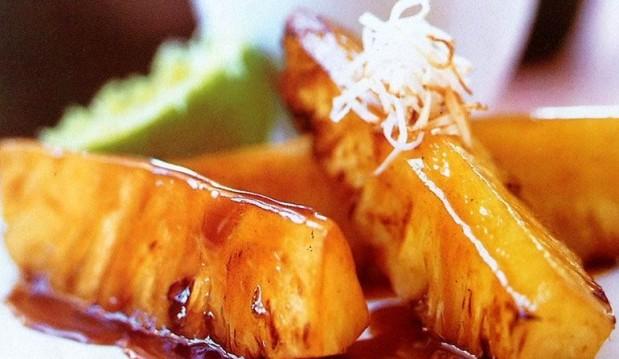 Ταϊλανδέζικος τηγανητός ανανάς από το «Cookbox» !