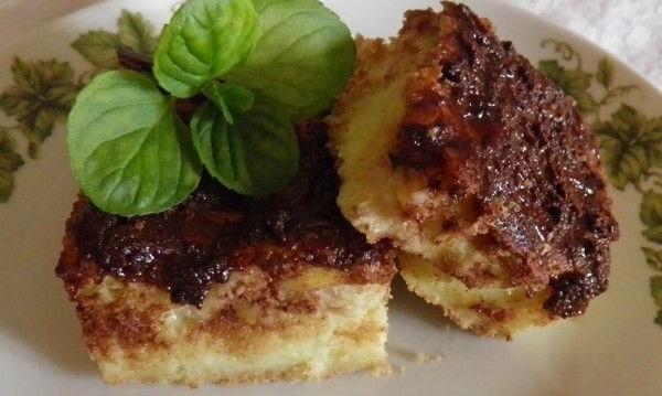 Μπανάνα με σιμιγδάλι και σοκολάτα από την Αρτεμησία και το Chefoulis.gr !
