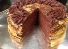 Τούρτα σοκολάτα με κρέπες  από τον Στέλιο Παρλιάρο και τις «Γλυκές Αλχημείες» !