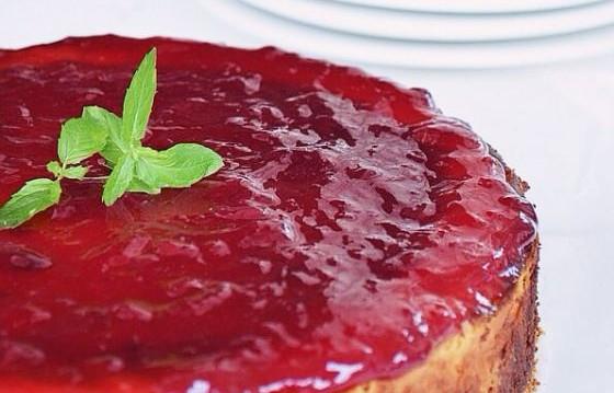 Cheesecake με Dulce de leche, (καραμελωμένο ζαχαρούχο γάλα),  Dulce de leche, baked Cheesecake by Gabriel Nikolaides and the  Cool Artisan!