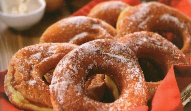 Γλυκές τηγανίτες από τον Giorgio Spanakis και το i-food !