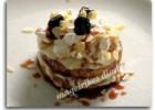 Μιλφέιγ με φρυγανιά και βύσσινο από την  Ηλιάννα και τις «Μαγειρικές Διαδρομές» !