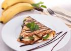 Κρέπες γλυκιές με αμύγδαλο, σοκολάτα και μπανάνα από  την Αρτεμησία και το «Chefoulis.gr»!