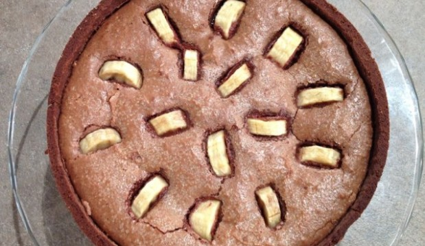 Τάρτα Σοκολάτα με Μπανάνες και Ρούμι από την Ελένη Ψυχούλη και το pirouni.gr!