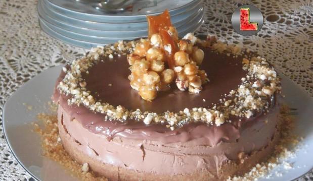 Σοκολατένιο cheesecake της «L»  από τη Ελευθερία Μπουτζα και το «Μαγειρεύοντας με την L»!