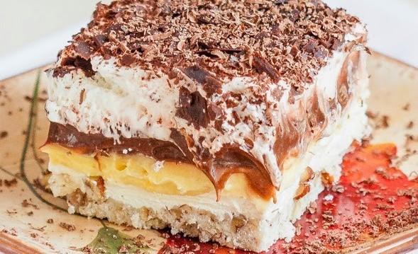 Λαχταριστό κρεμώδες γλυκό ψυγείου από τις «Γλυκές Τρέλες» !