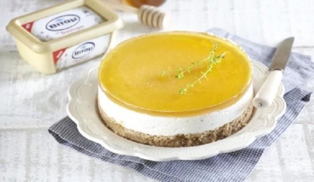 Cheesecake με γεύση ελληνική από  την Ντίνα Νικολάου και το Βιτάμ!