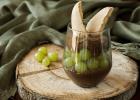 Κρέμα σοκολάτας με σταφύλια και σαβαγιάρ από την Nestle και τις glikessintages.gr!