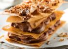 Μιλφέιγ με καρύδια και σοκολάτα από την Nestle και το  «glikessintages.gr»!