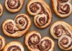 Μπισκότα Παλμιέ με Nutella μόνο με 2 ΥΛΙΚΑ σε 10′ , από το sintayes.gr!