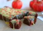 Brownies με ρόδι – Pomegranate Brownies Recipe  by Gabriel Nikolaides and the Cool Artisan!