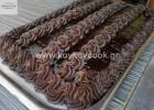 Τούρτα σοκολατίνα με γκανάς με σοκολάτα γάλακτος, από την αγαπημένη  Ρένα Κώστογλου  και το  koykoycook.gr!