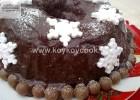 Καταπληκτικό Χριστουγεννιάτικο γεμιστό κέικ με  άλειμμα  κακάο,   από την Ρένα Κώστογλου και το Koykoycook.gr