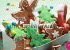 Μπισκότα Χριστουγεννιάτικα με τζίντζερ, από την Ντίνα Νικολάου!