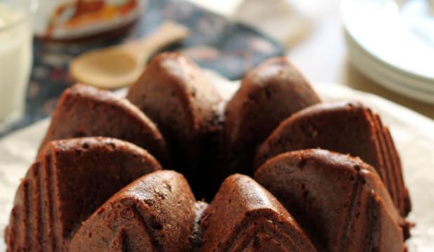 Κέικ με μπανάνα και nutella, από την υπέροχη Ερμιόνη Τυλιπάκη,  και το «The one with all the Tastes»!