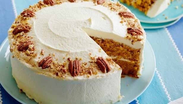 Κέϊκ καρότου με επικάλυψη κρέμας τυριού, από το sintayes.gr!