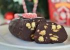 Κορμός σοκολάτας με κουραμπιέδες -Festive Recycling: Chocolate Salami Recipe by Gabriel Nikolaidis and the Cool Artisan!
