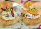 «Φωλιές» από κανταΐφι με μους γιαουρτιού και σιρόπι πορτοκαλιού, από την Ντίνα Νικολάου!