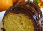 Κέϊκ Πορτοκαλιού με γλάσο σοκολάτας νηστίσιμο, από το sintayes.gr!