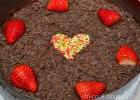 Τούρτα σοκολάτας με φράουλες, από τον Αντώνη Δρακάκη και το ditucook.blogspot.gr!