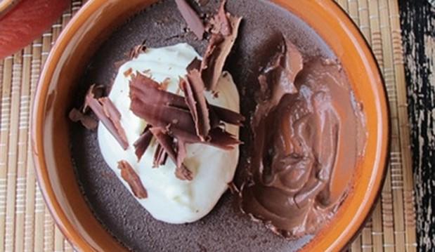 Ψητή κρέμα σοκολάτας από το Cookbox!